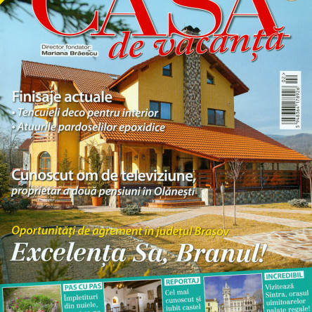 "Seven boutique villa in the ""Casa de vacanta"" (Holiday house) magazine"
